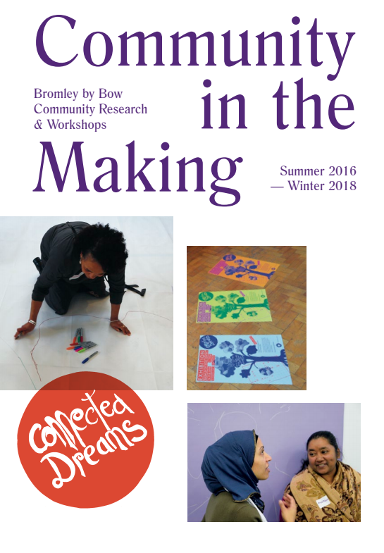 Community in the making flyer image
