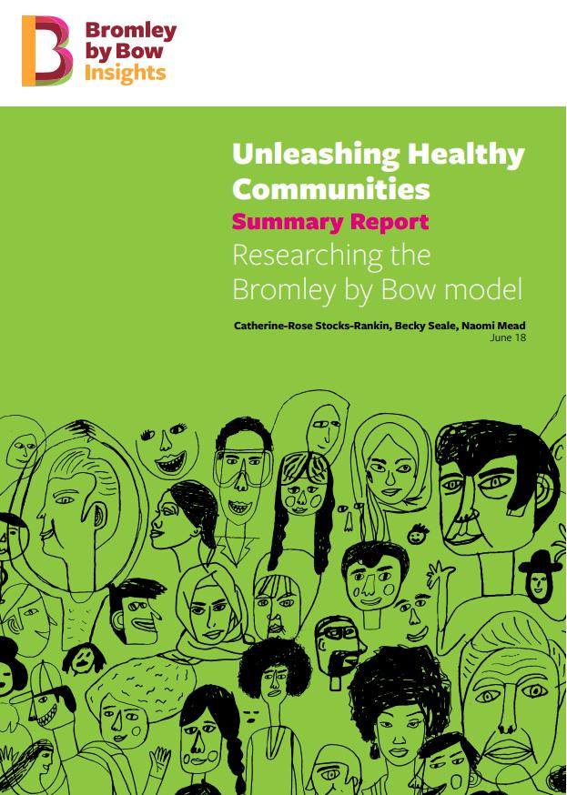 Unleashing Healthy Communities Summary Report Image